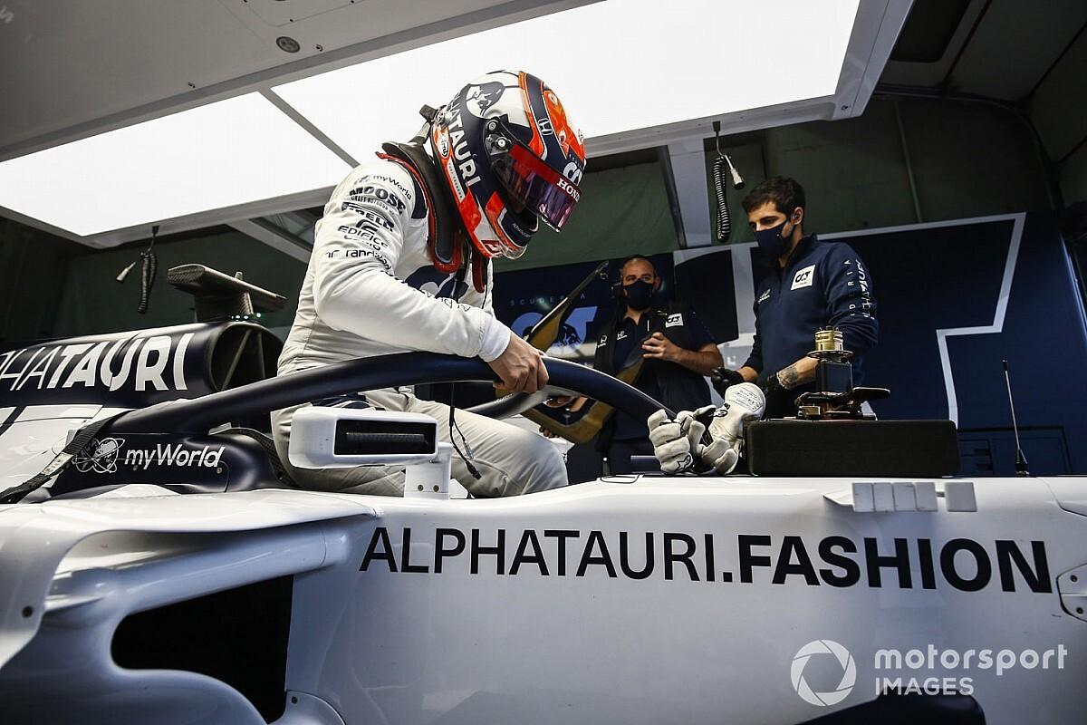 """Tsunoda na eerste F1-test: """"Veel meer vermogen dan gedacht"""""""