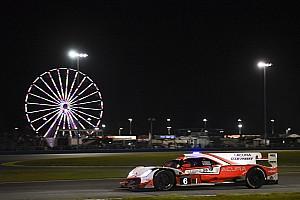 Montoya explica la difícil madrugada del Acura en Daytona