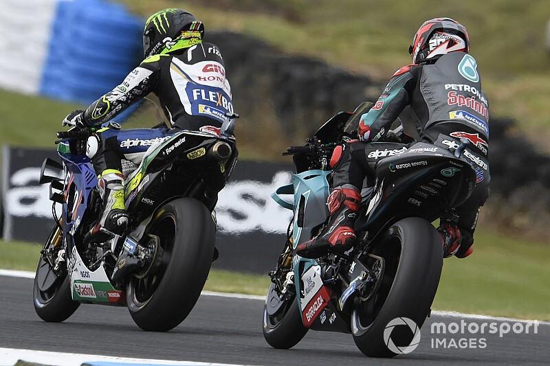 El viento obliga a cancelar la cronometrada de MotoGP
