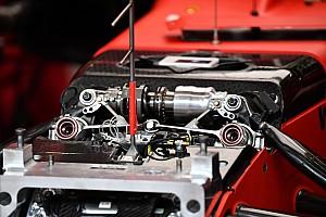 A Ferrari első felfüggesztése változott a legkevesebbet az élcsapatok közül