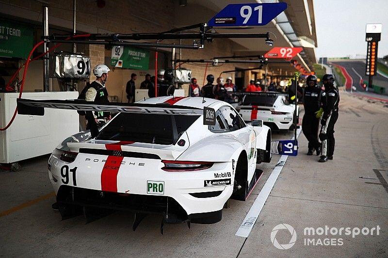 Que fait une équipe comme Porsche pendant le confinement?