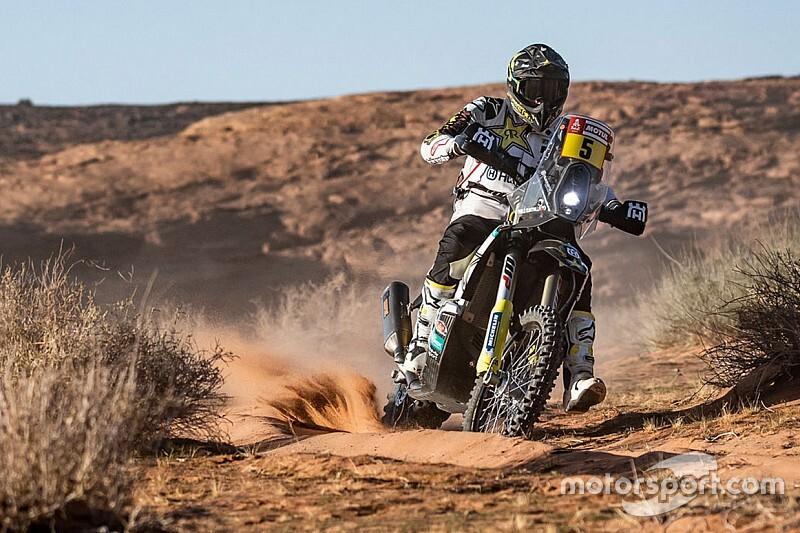 Dakar, Moto, Tappa 9: Quintanilla batte Price e Barreda
