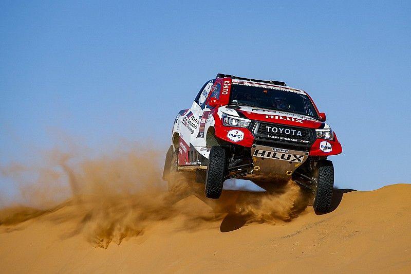 Alonso óriásit ment a Dakaron, második lett a 8. szakasz végén