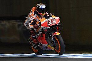 Motegi MotoGP: Marquez, Morbidelli'nin önünde pole'de!