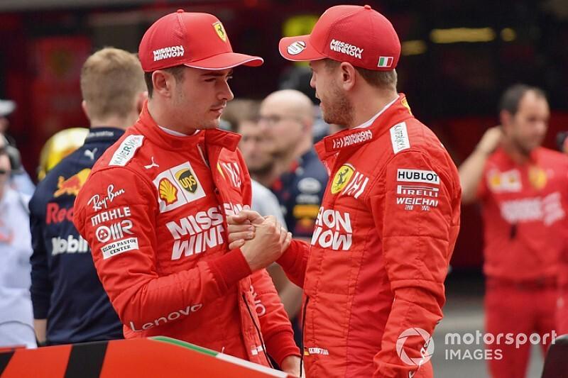 Ferrari: fra Vettel e Leclerc chiarimento in conference call