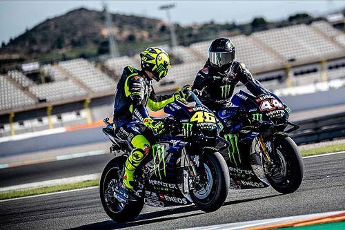 """Hamilton a """"impressionné"""" au guidon de la Yamaha"""