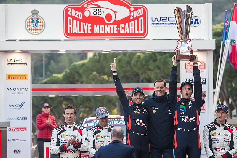 WRC 2020: Neuville y Hyundai ganan su primer Montecarlo