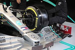 Fotos: las mejoras en los coches el quinto día de test