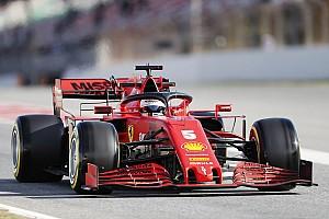 Le poids des F1 modernes frustre Vettel