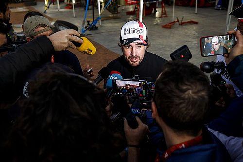 Alonso a navigátorát dicsérte a kiváló 7. Dakar-szakasz után