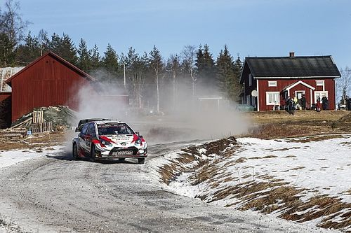 Sweden WRC: Evans in control with two stages left