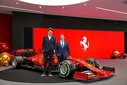 """Le patron de Ferrari a """"toute confiance"""" en Binotto"""