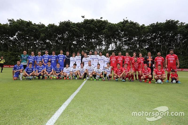 Massa, Barrichello, Di Grassi e cia: pilotos se reúnem em São Paulo para futebol solidário