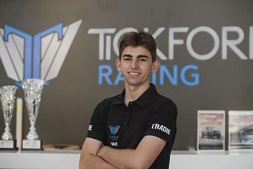 Teen star Feeney joins Tickford Racing
