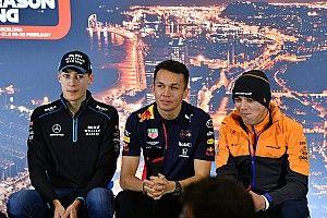 Pilotos jóvenes de F1 en un campeonato virtual por caridad