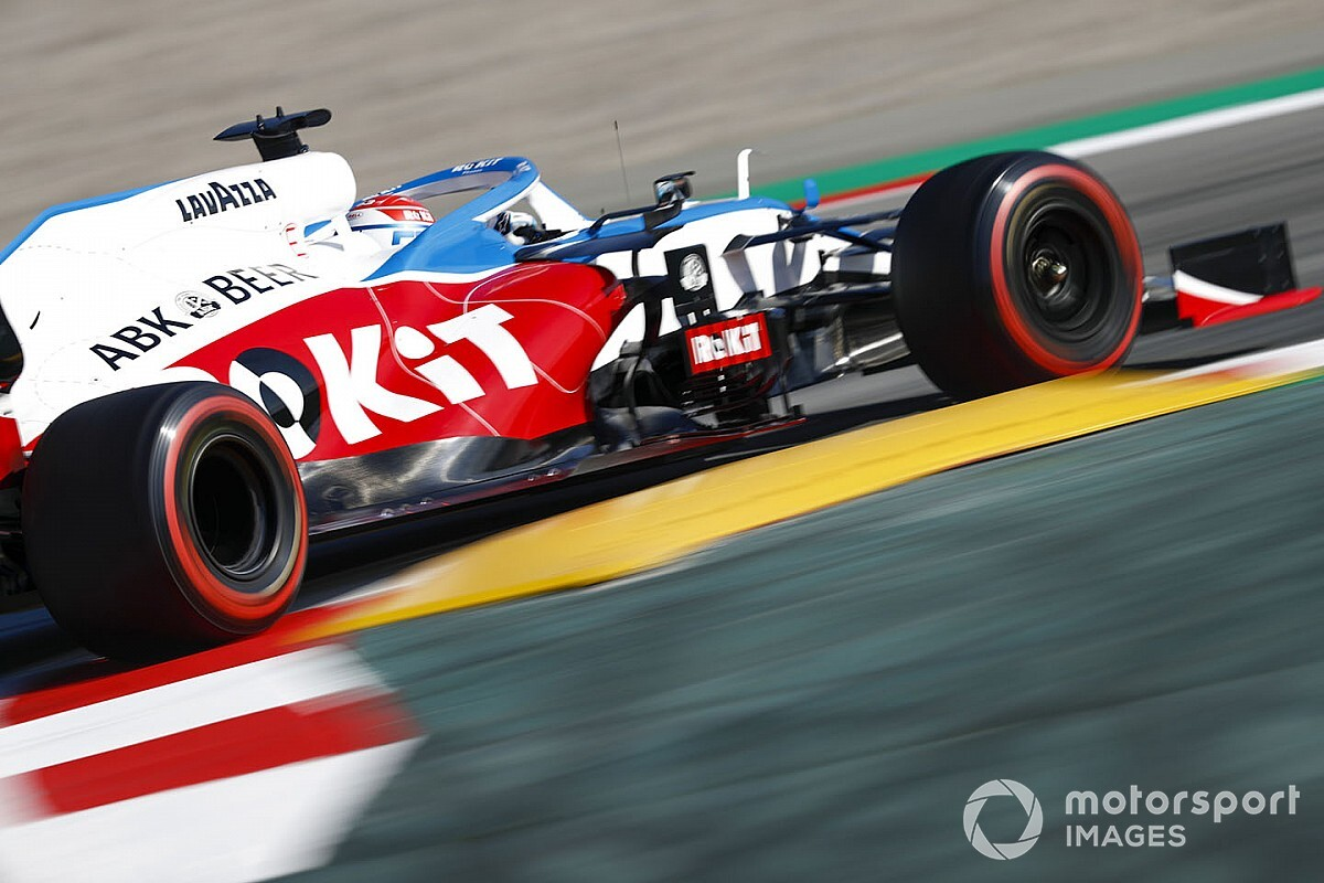 """Russell says new Williams feels """"much better"""" than 2019 car"""