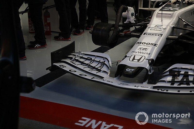 Las soluciones técnicas de la F1 en la primera semana de test