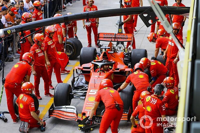 """Binotto: """"Ferrari, pit stoplarda yeterince iyi değil"""""""