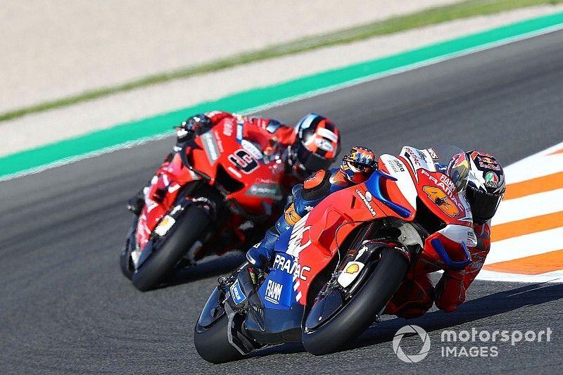 No Ducati talks over 2020 swap, say Petrucci and Miller