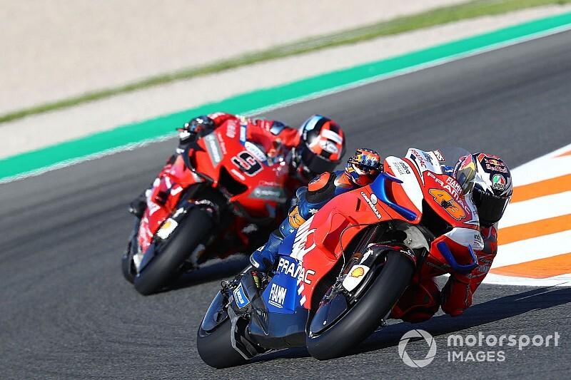 Geen wissel in de maak bij Ducati, aldus Petrucci en Miller