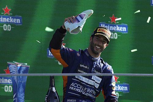 """Daniel Ricciardo """"sohasem vesztette el a hitét"""" a nehéz első McLarenes szezonjában"""
