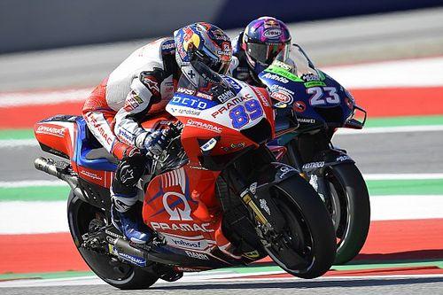 La parrilla de salida del GP de Estiria 2021 de MotoGP