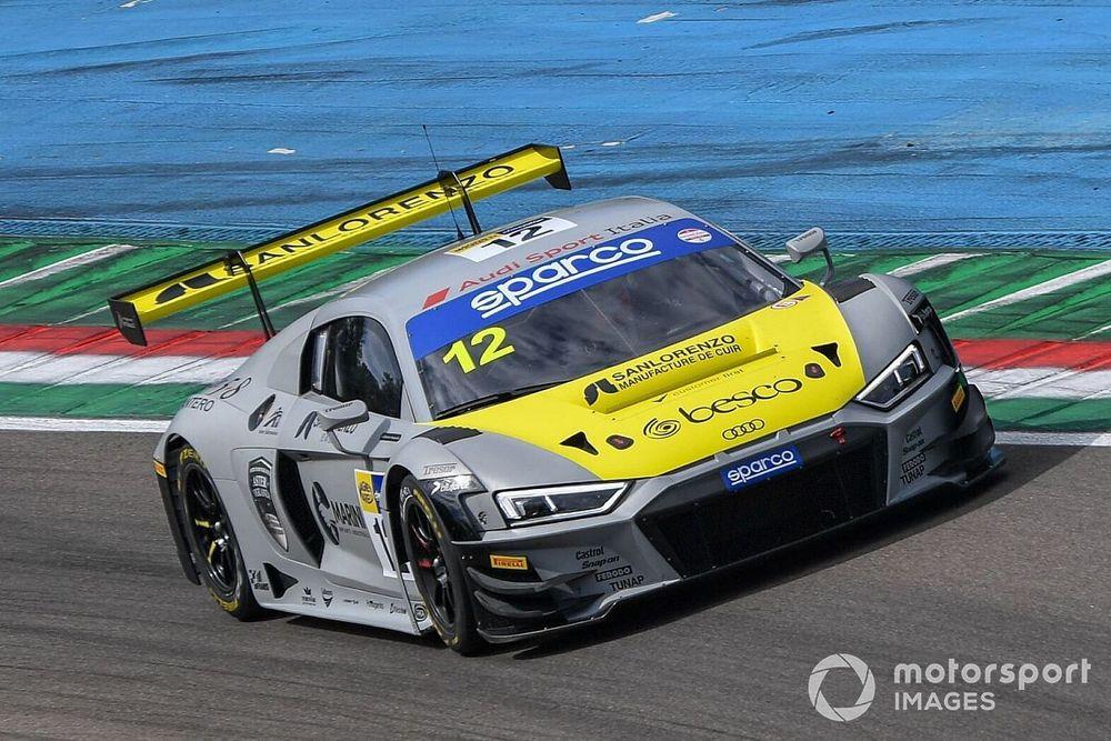 GT Sprint, Imola: Ferrari-Agostini regalano all'Audi Gara 1