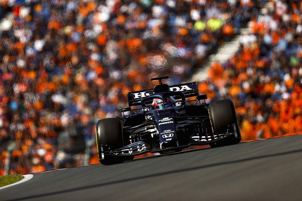 F1オランダ予選速報:フェルスタッペンが初の母国GPでPP獲得! 角田は赤旗でQ2アタックの機会逃し15番手