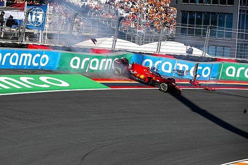 """Sainz na fout in VT3: """"Dit is hoe een circuit hoort te zijn"""""""