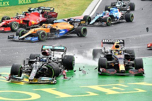 Verstappen, Perez lose second Honda F1 engines after crash damage
