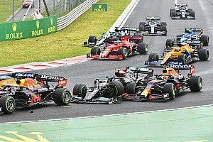 Verstappen: megint egy Mercedes ütött ki, utána vezethetetlen volt az autó