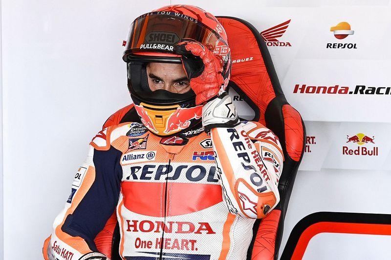MotoGP: Márquez diz não estar gostando de pilotar no momento