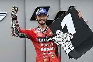 Bagnaia logra una pole con récord en Aragón