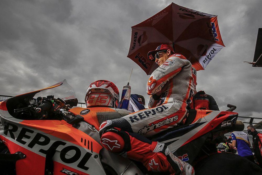 Marc Márquez espère compenser ses faiblesses au GP d'Aragón