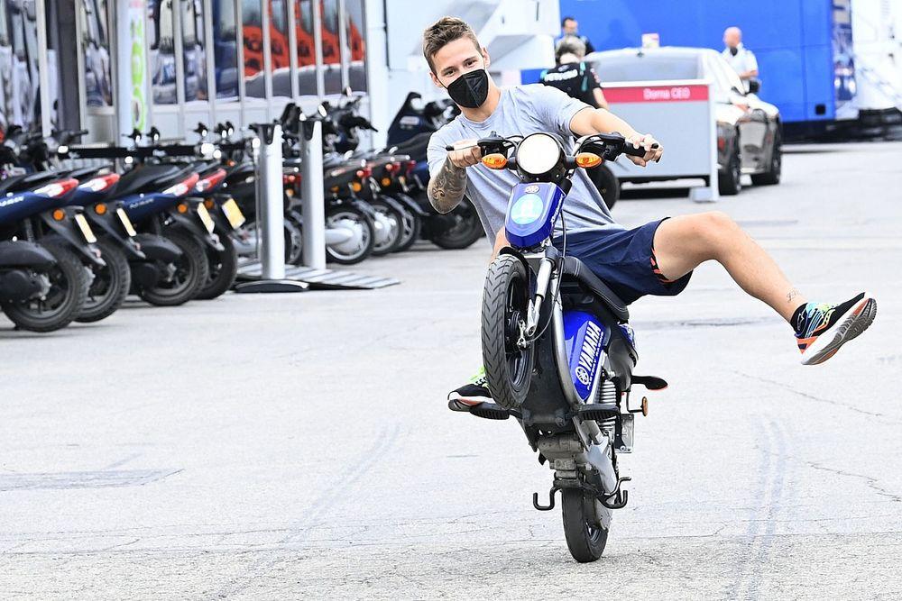 Куартараро неправильно тренировался в Арагоне. И слил гонку