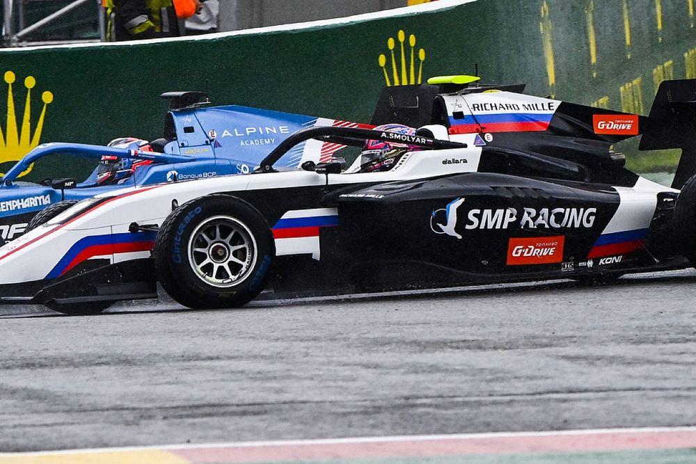 Смоляр финишировал 8-м во второй гонке Ф3 в Спа