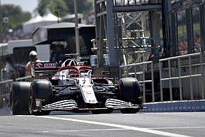 Accidente de Raikkonen en pits fue consecuencia de una falla de Alfa