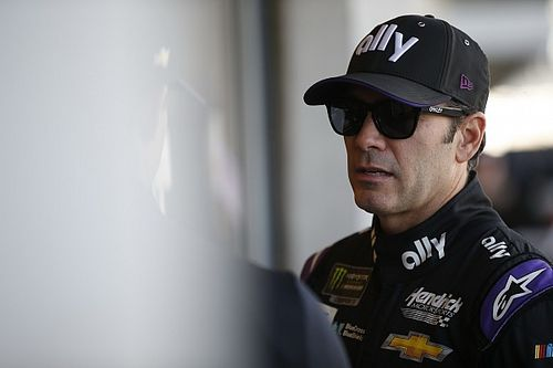 Jimmie Johnson's playoff hopes end in a wreck at Indianapolis