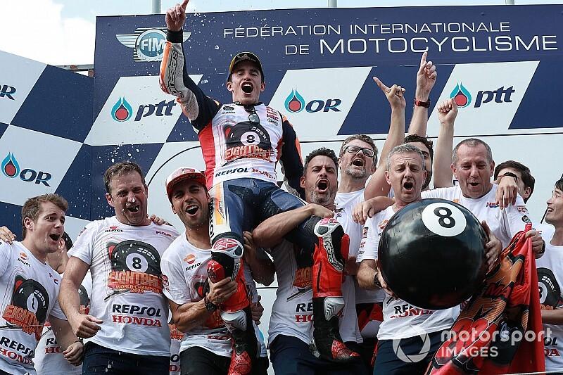 Marc Márquez, Champion titré le plus tôt depuis 2005