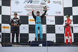 F4, Red Bull Ring: Giorgio Carrara vince gara 3!