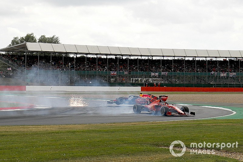 Verstappen: Vettel se disculpó por el choque