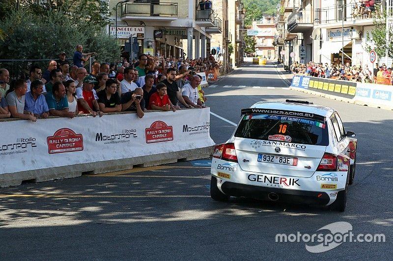 Rally Roma, PS10: disperato assalto al podio per Crugnola