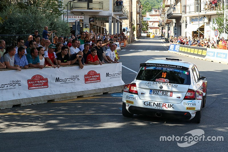 Rally Roma, PS10: disperato assalto al podio per Crugnola