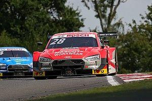 Lausitzring, Libere 1: Duval svetta con l'Audi inseguito da Wittmann