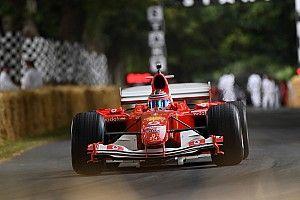 La carrière de Michael Schumacher a été célébrée à Goodwood
