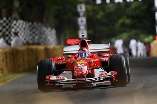 Egyszerűen lenyűgöző: újra mozgásban a V10-es F1-es Ferrari