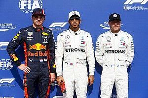 Starting grid F1 GP Jerman 2019