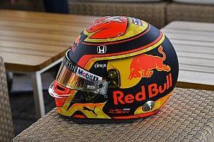Элбон показал новый шлем для дебюта в Red Bull