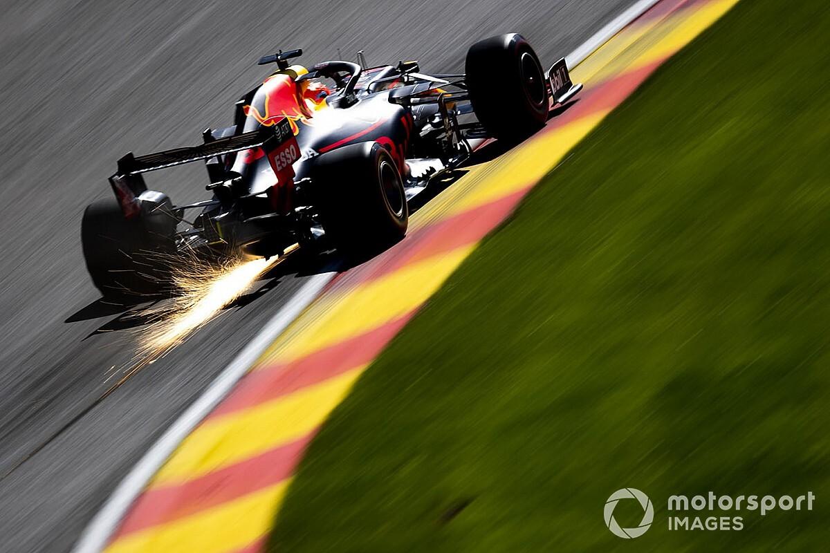Red Bull понизила мощность мотора для пятничных тренировкок в Спа