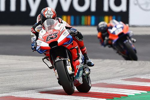 Bagnaia a connu un déclic grâce à sa chute de Brno